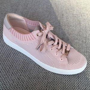 Michael Kors Skyler Lace-Up Pink/Gray Sneakers